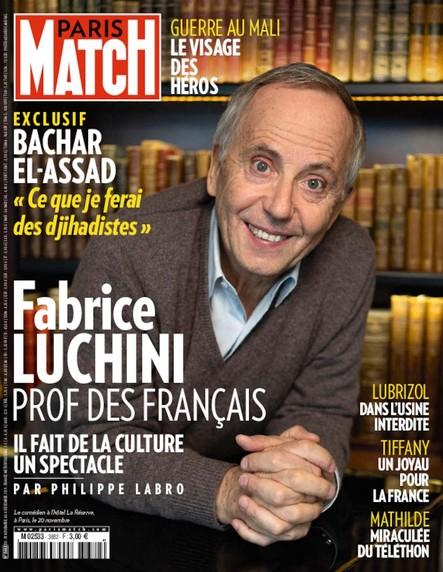 Paris Match N°3682 - Novembre 2019