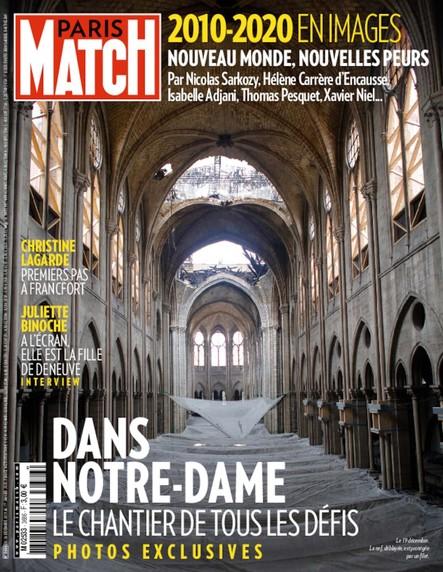 Paris Match N°3686 - Décembre 2019
