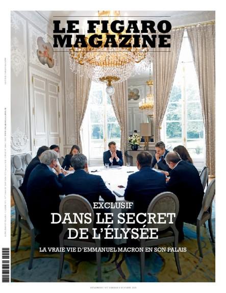 Figaro Magazine : Dans le secret de l'Elysée