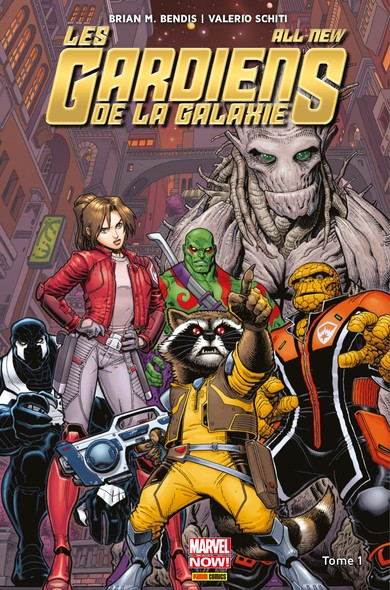 All-New Les Gardiens de la Galaxie (2015) T01