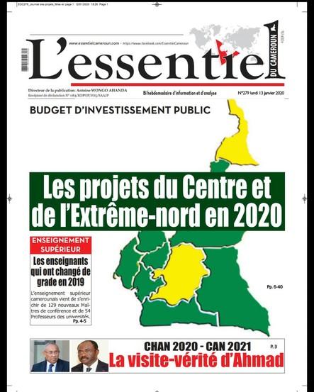 L'essentiel du Cameroun numéro 279