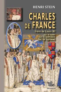 Charles de France, frère de Louis XI : duc de Berry, duc de Normandie, duc de Guyenne | Stein, Henri