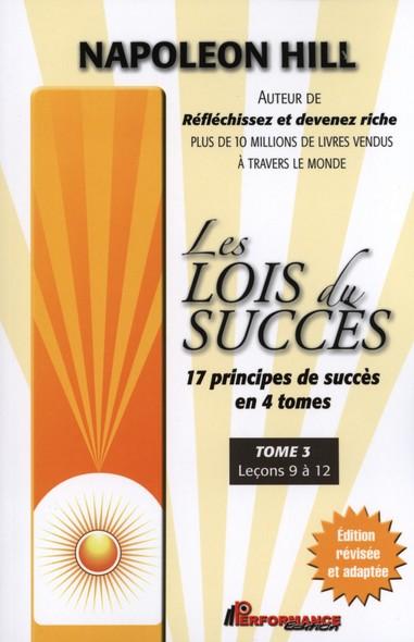 Les lois du succès 3 : Leçons 9 à 12