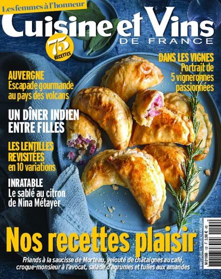 Cuisine et Vins de France - Janvier/Février 2020