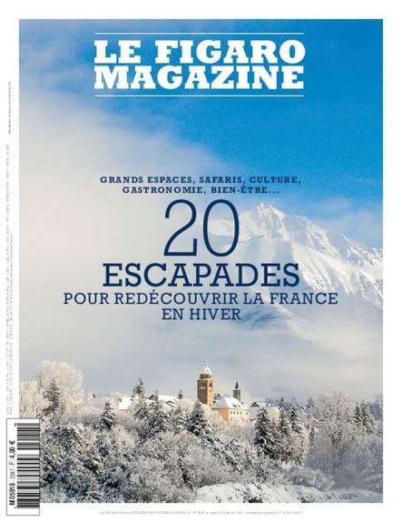 Figaro Magazine : 20 Escapades pour découvrir la France en hiver
