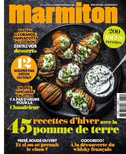 Marmiton - Janvier-Février 2020