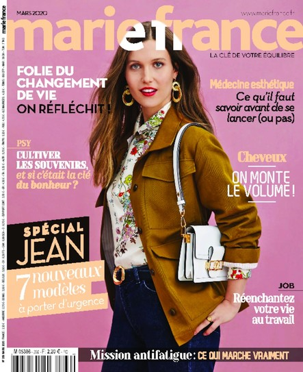 Marie France - Mars 2020