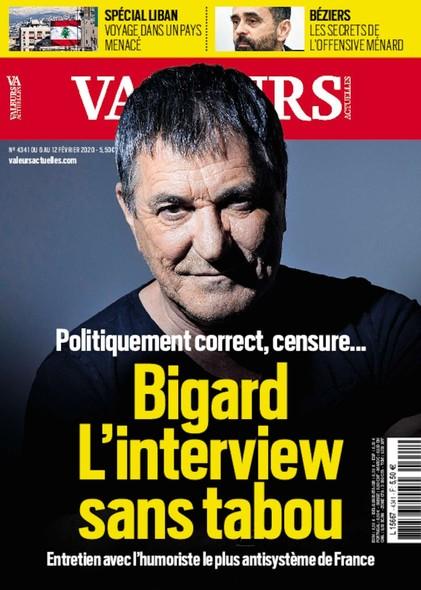 Valeurs Actuelles - Février 2020 - Bigard,l'Interview sans tabou