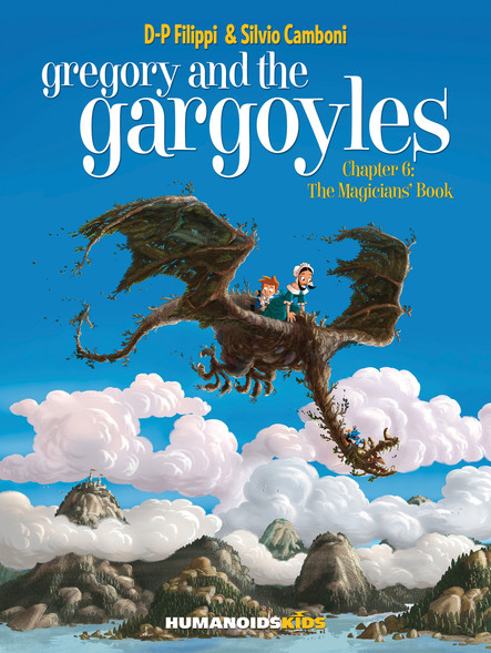 Gregory and the Gargoyles T6 : The Magicians' Book