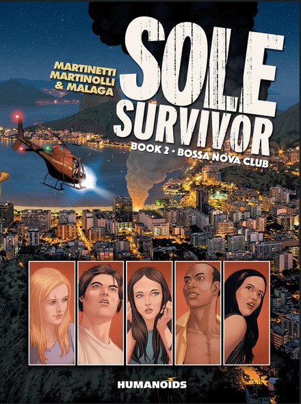 Sole Survivor book 2 : Bossa Nova Club