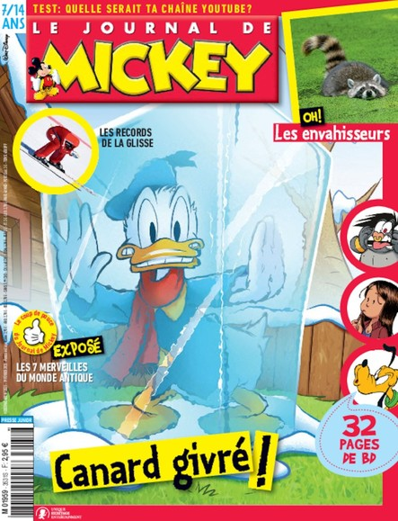 Le Journal de Mickey - 19 Février 2020