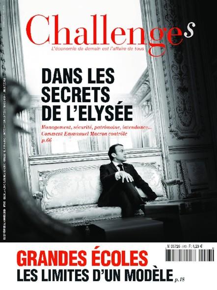 Challenges - Février 2020 - Dans les secrets de l'Elysée