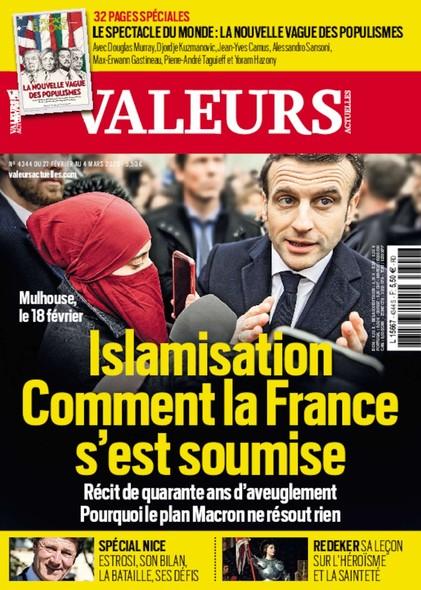 Valeurs Actuelles - Février 2020 - Islamisation : Comment la France s'est soumise