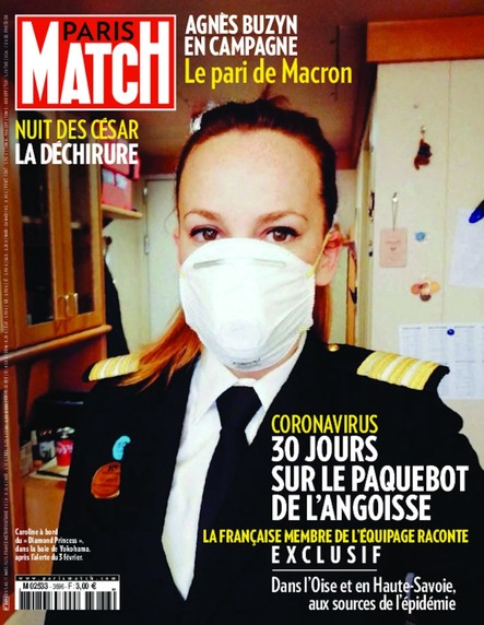 Paris Match N°3696 - Mars 2020