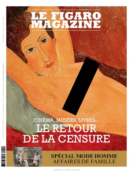 Figaro Magazine : Le retour de la censure