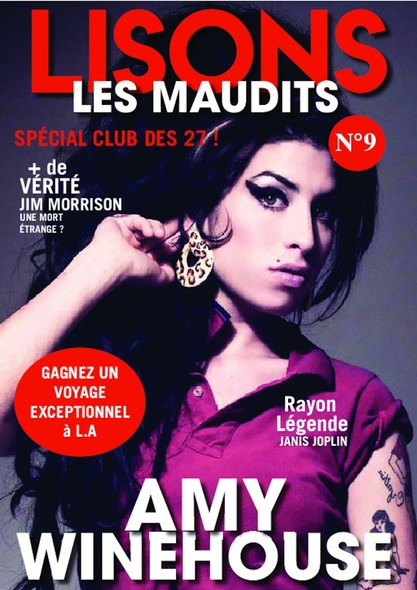 Lisons Les Maudits N°009 - Amy Winehouse