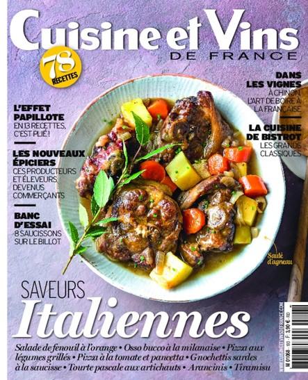 Cuisine & Vins de France - Mars/Avril 2020