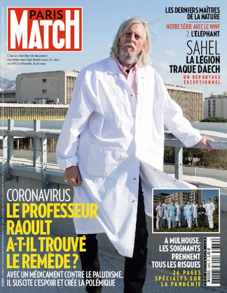 Paris Match N°3699 - Mars 2020