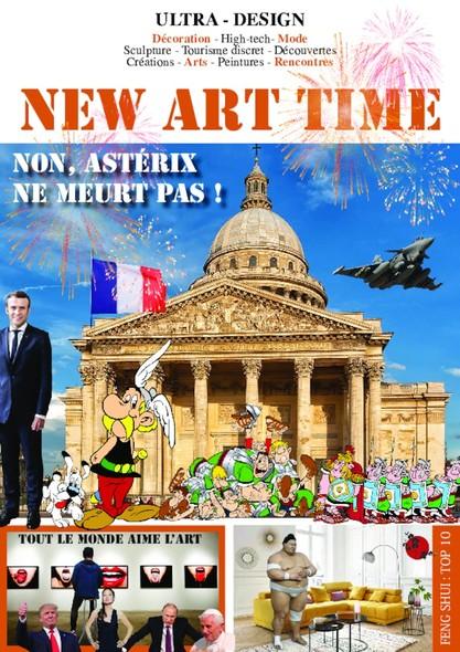 New Art Time - Avril 2020