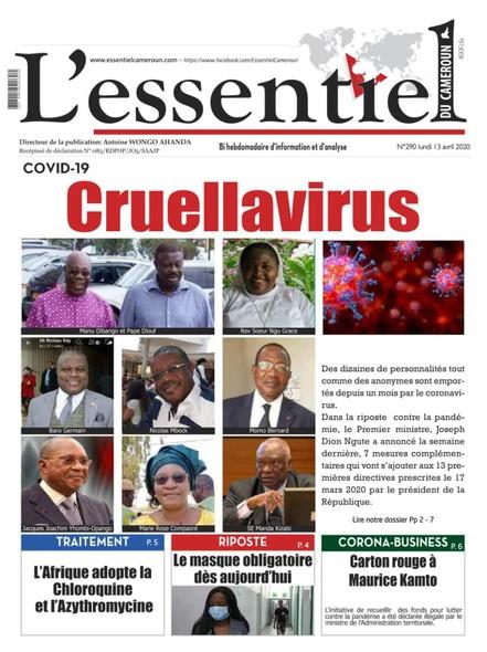 L'essentiel du Cameroun numéro 290