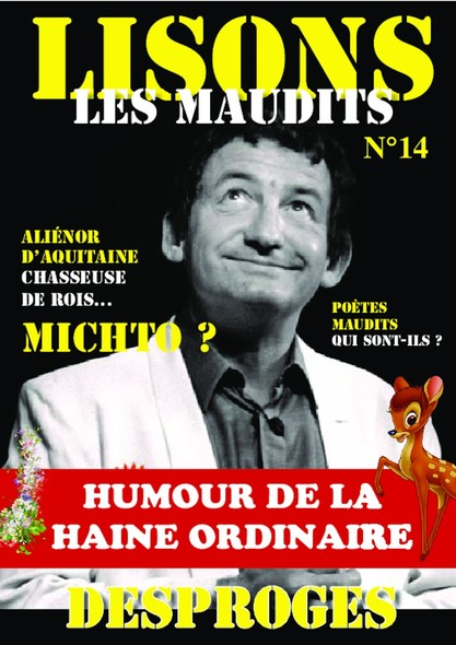 Lisons Les Maudits N°014 - Desproges