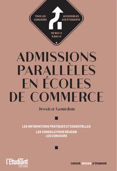 Admissions parallèles en écoles de commerce | Jessica Gourdon