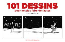 101 dessins pour ne plus faire de fautes | Samuel Rimbault