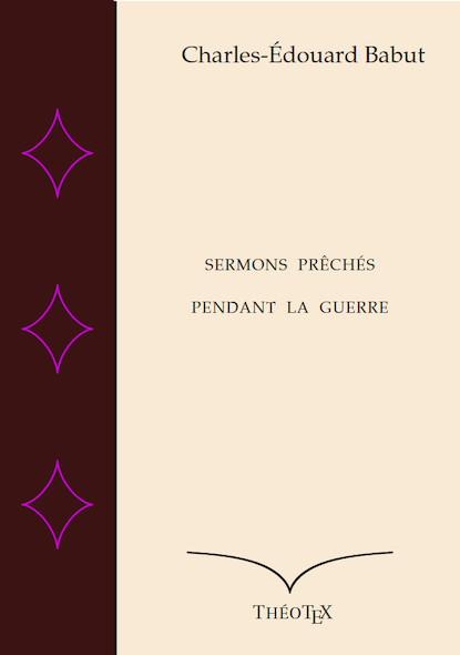 Sermons prêchés pendant la guerre