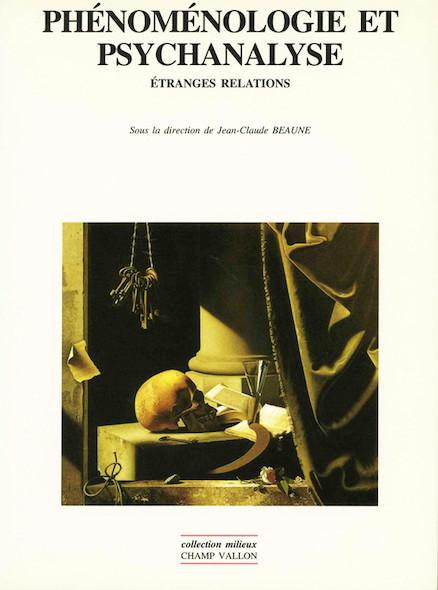 Phénoménologie et psychanalyse