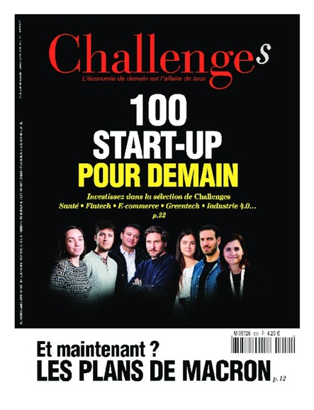 Challenges - Avril 2020 - 100 Startup pour demain