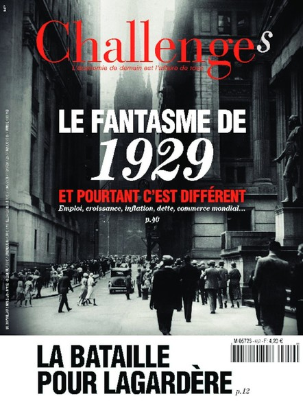 Challenges - Avril 2020 - Le fantasme de 1929