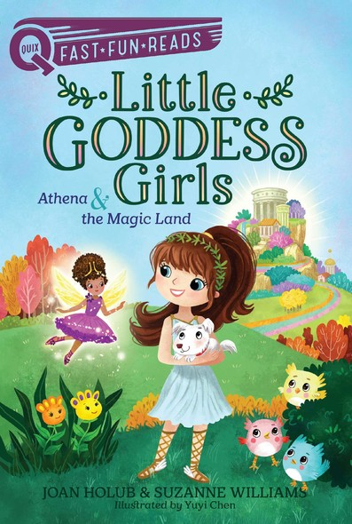 Athena & the Magic Land : Little Goddess Girls 1