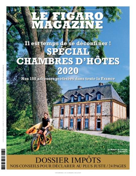 Figaro Magazine : Spécial Chambres d'hôtes 2020