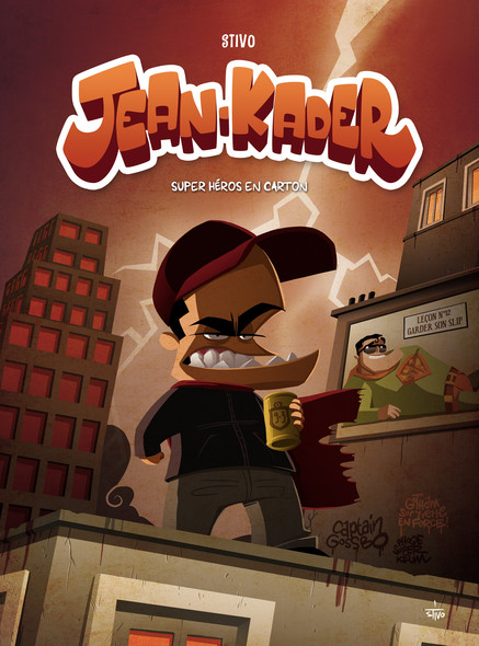 Jean-Kader – super-héros en carton