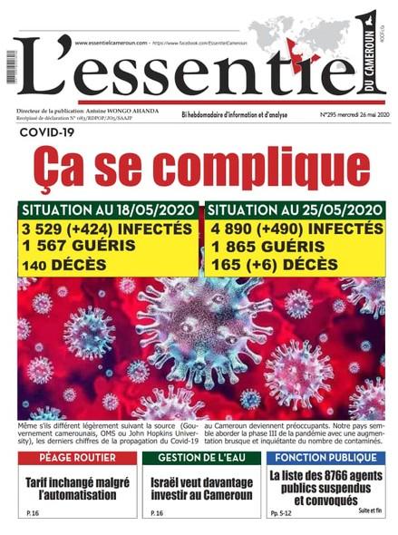 L'essentiel du Cameroun numéro 295