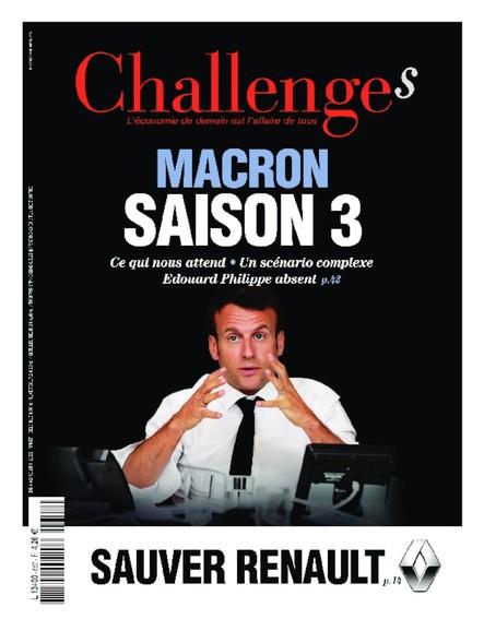 Challenges - Juin 2020 - Macron Saison 3