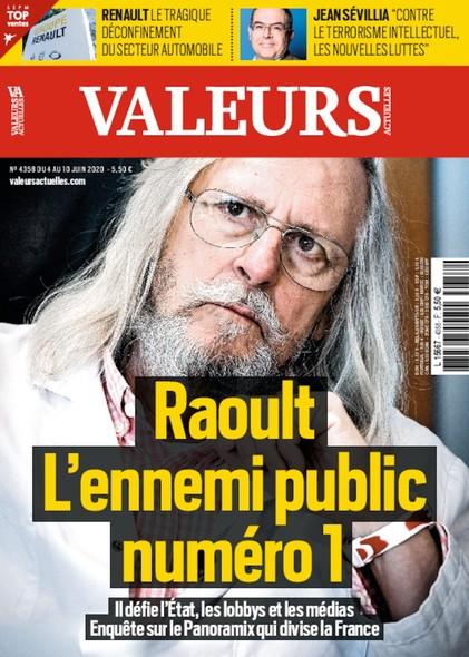 Valeurs Actuelles - Juin 2020 - Raoult L'Ennemi Public N°1