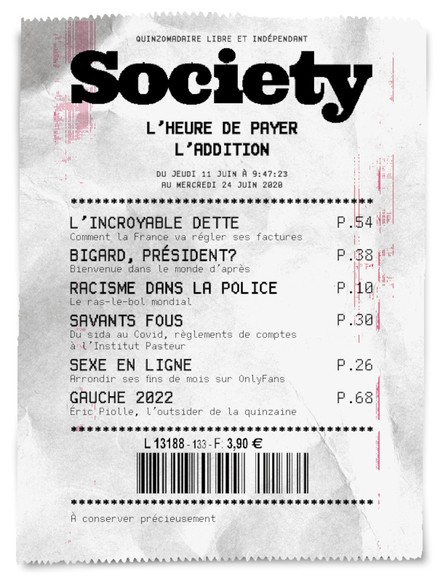 Society - Juin 2020 - N°133