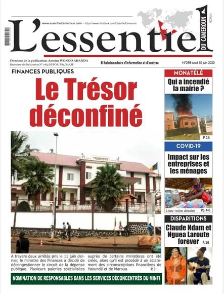 L'essentiel du Cameroun numéro 298