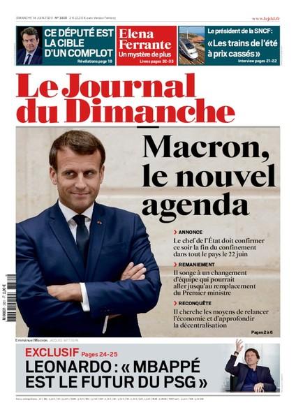 Journal du dimanche - 14 Juin 2020