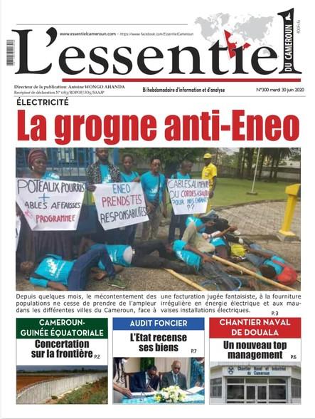 L'essentiel du Cameroun numéro 300