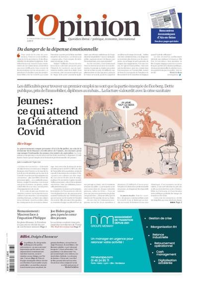 L'Opinion - 03 Juillet 2020