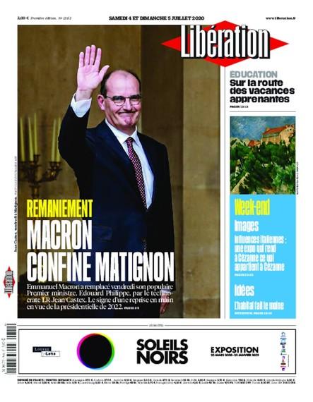 Libération - 04 Juillet 2020