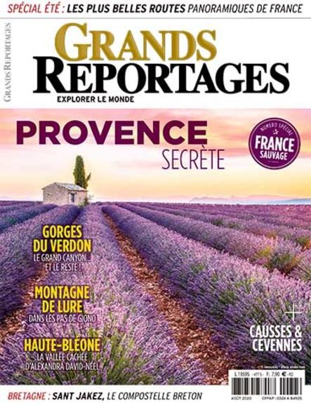 Grands Reportages - Août 2020
