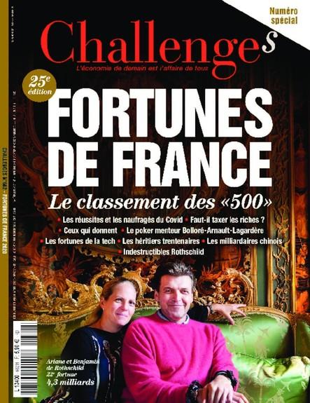 Challenges - Juillet 2020 - Fortunes de France