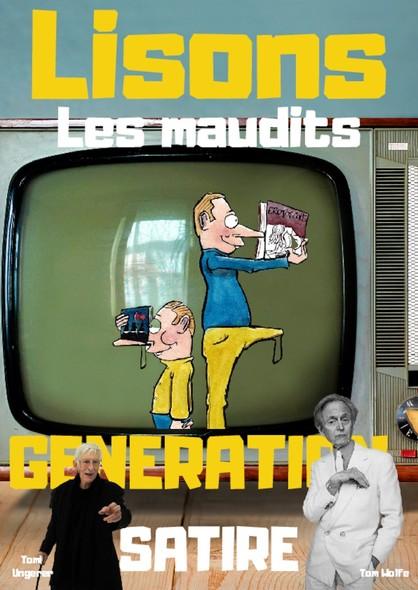 Lisons Les Maudits N°019 - Génération Satire