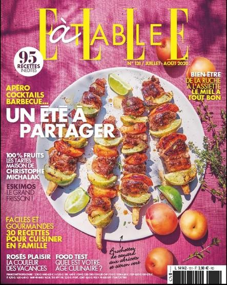Elle à Table - Juillet/Août 2020 N°131
