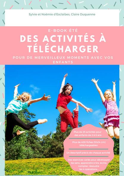 Ebook Montessori été : Des activités à télécharger sur le thème de l'été pour vos enfants de 2 à 6 ans
