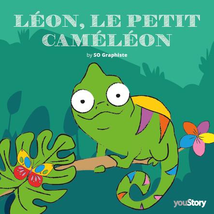 Léon, le petit caméléon
