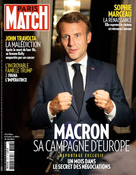 Paris Match N°3716 - Juillet 2020
